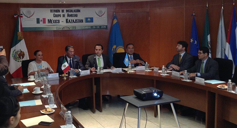 Парламентская группа дружбы Мексика-Казахстан создана в Мескике