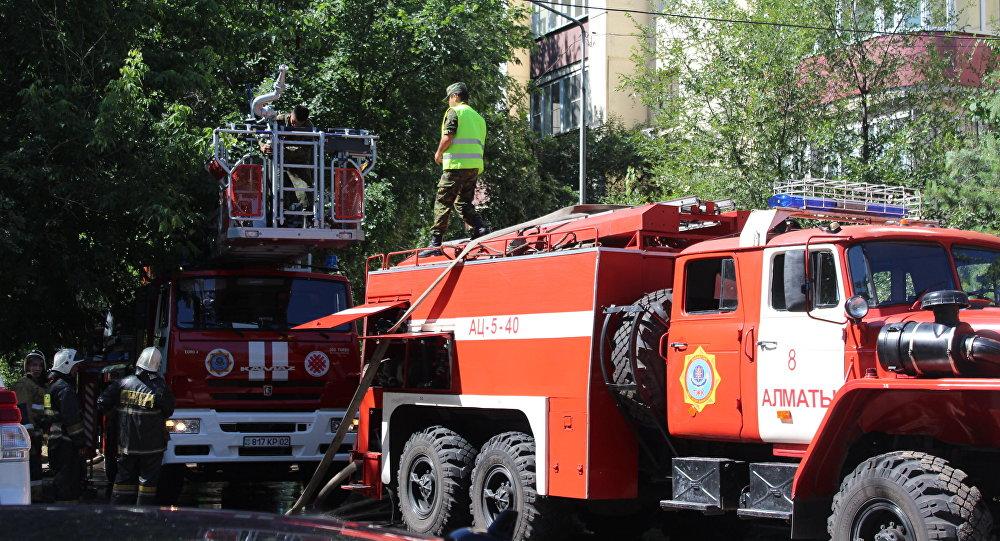 Пожарная машина, архивное фото
