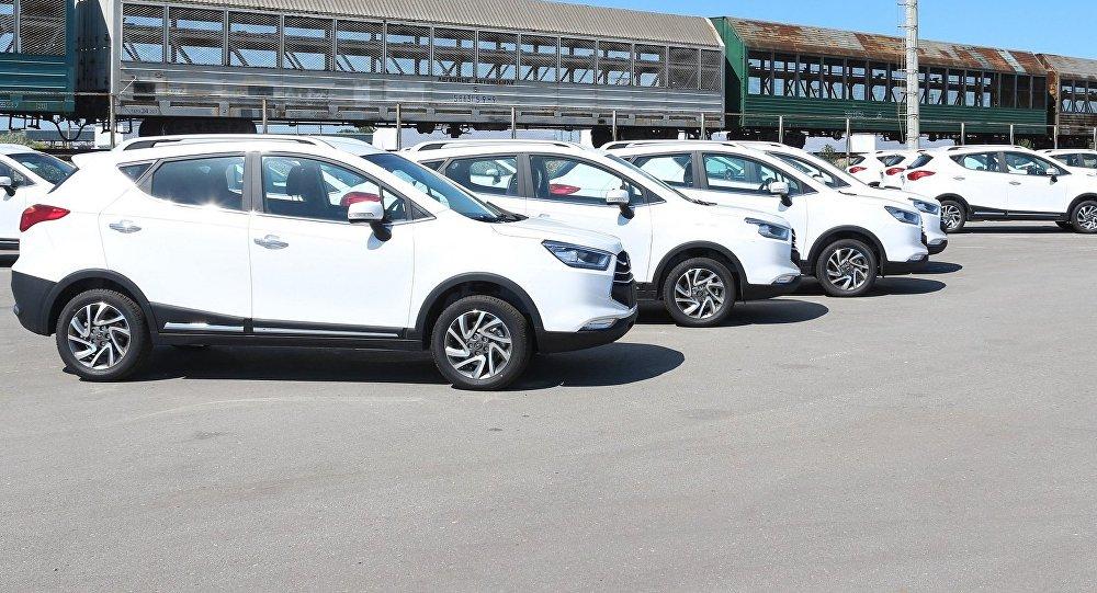 ВТаджикистан отправлена первая партия казахстанских авто марки JAC