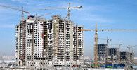 Строящиеся объекты молодой столицы Казахстана - Астаны