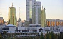 Астанада Қазақстан парламентінің ғимараты