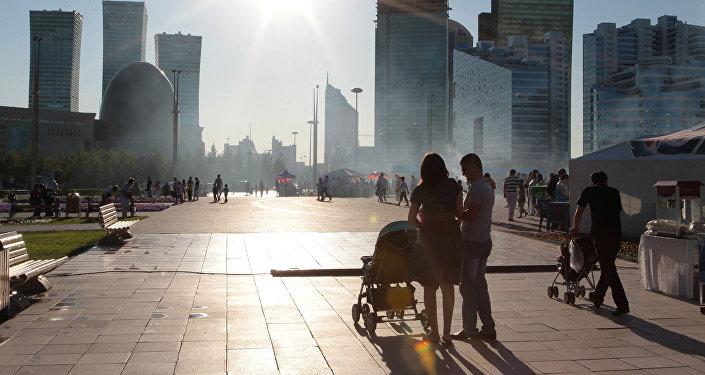 Города мира. Астана, архивное фото
