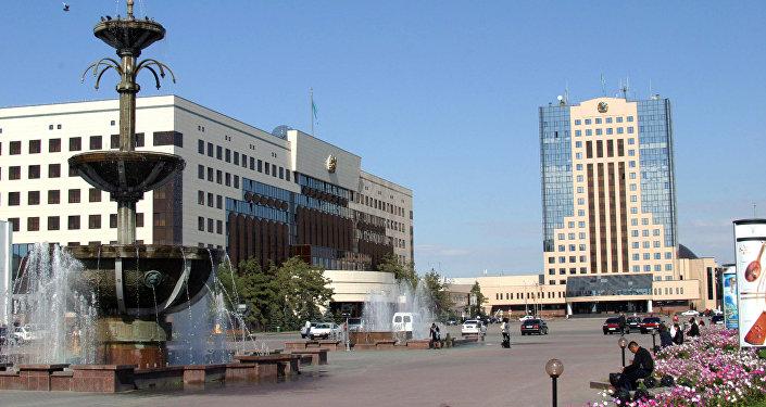 Астана Орталық алаңында
