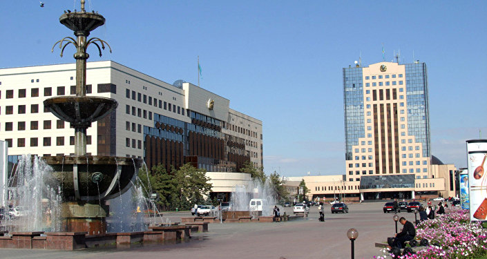 На Центральной площади Астаны