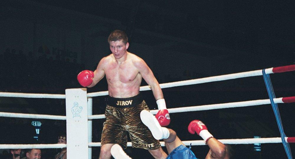 Боксер Василий Жиров. Архивное фото
