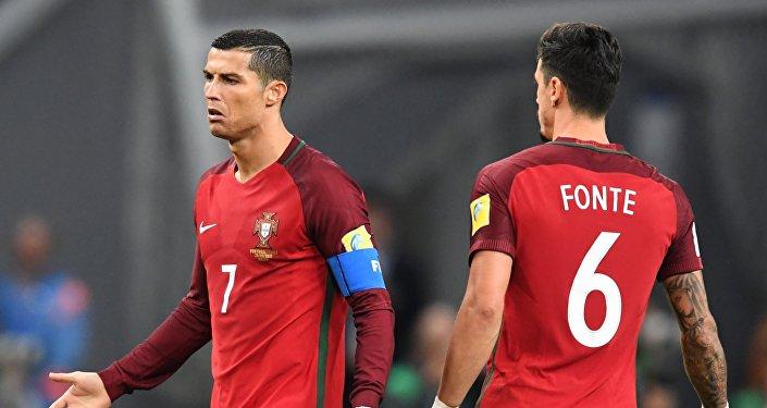 Криштиану Роналду и Жозе Фонте (Португалия)