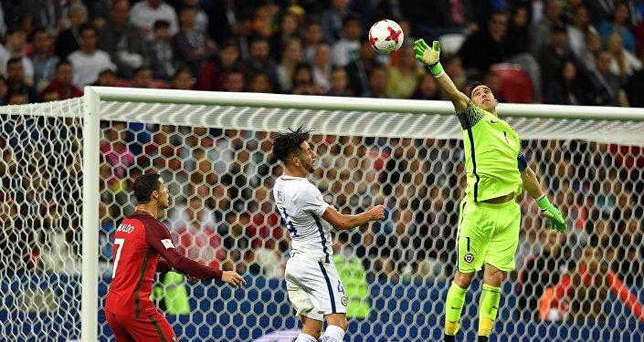Футбол. Кубок конфедераций-2017. Матч Португалия - Чили