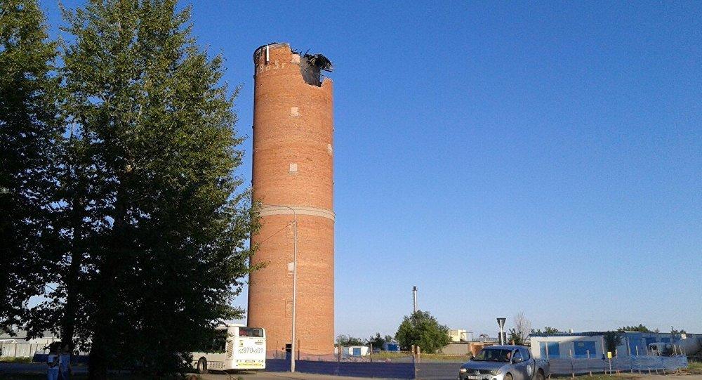 Водонапорная башня сада схема