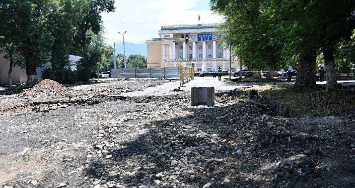 Реконструкция алматинских улиц