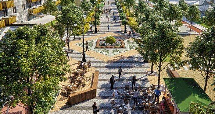 Проект реконструкции алматинских улиц