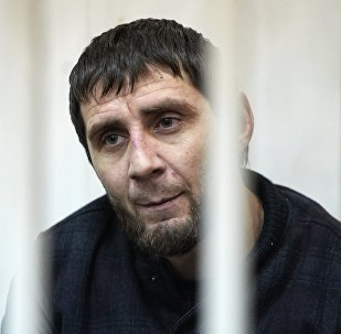 Архивное фото одного из подозреваемых в убийстве Бориса Немцова Заура Дадаева