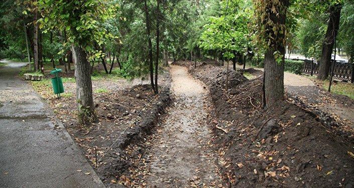 Перекопанный Парк 28 панфиловцев