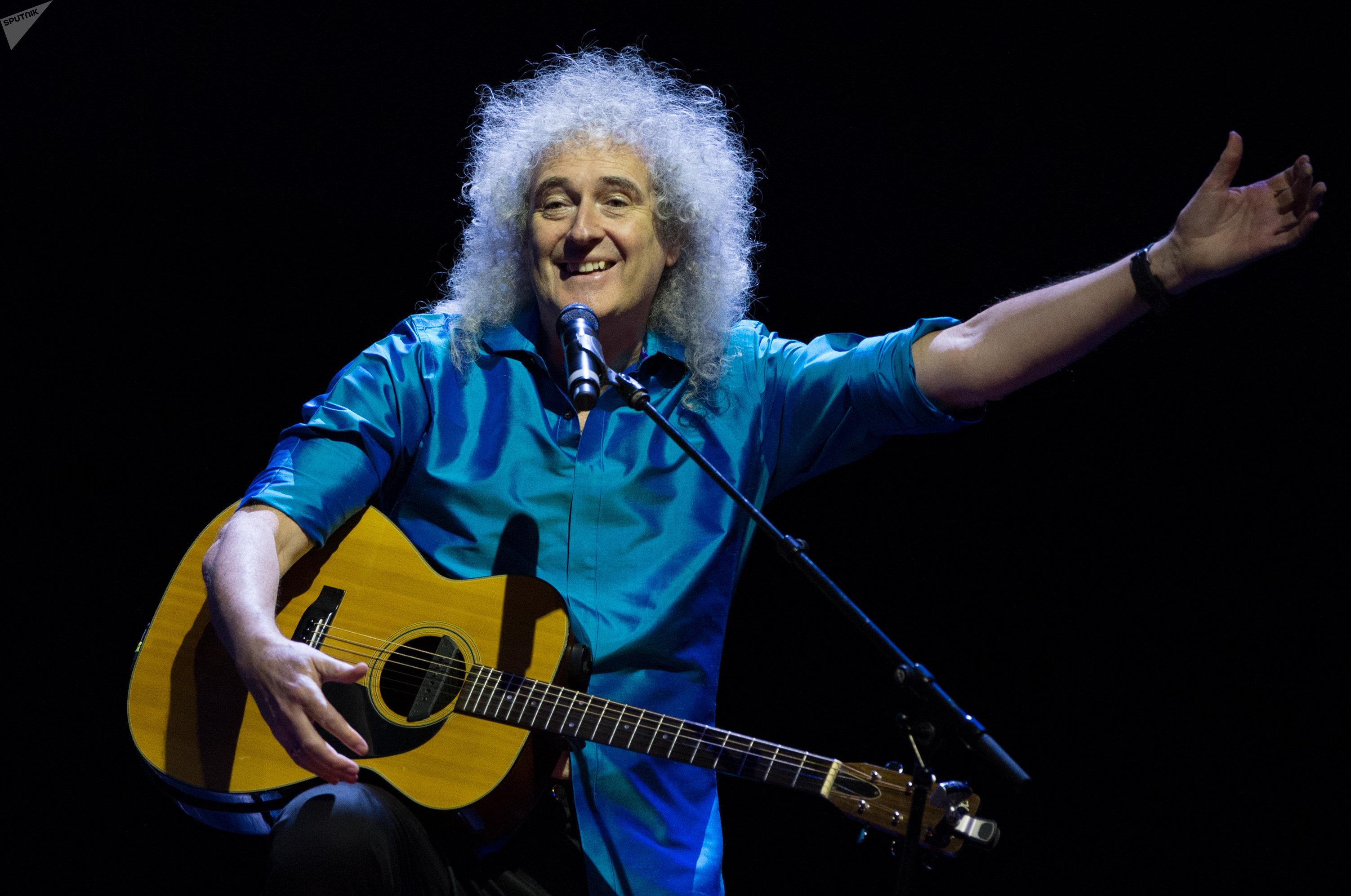 Концерт гитариста группы Queen Брайана Мэя