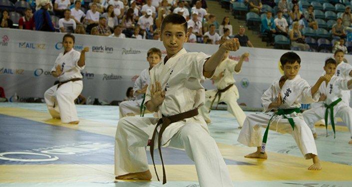 VI чемпионат мира по каратэ шинкиокушинкай в Астане