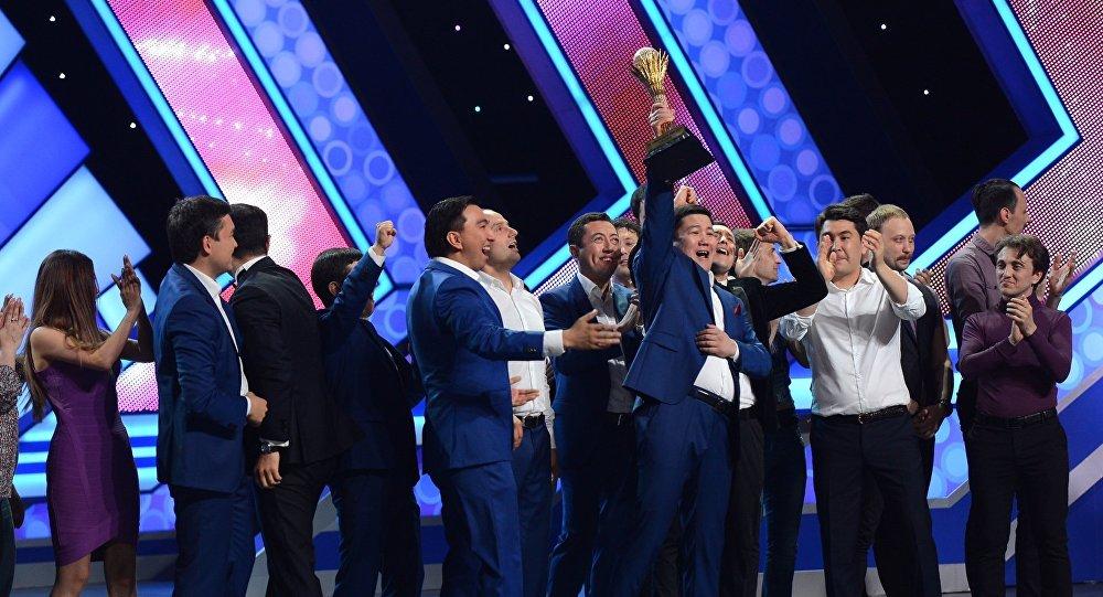 Летний кубок КВН завоевала команда Каzахи