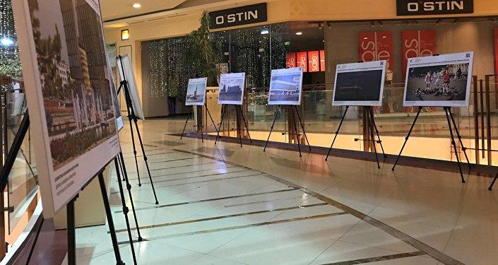 Выставка Sputnik Казахстан ко Дню столицы