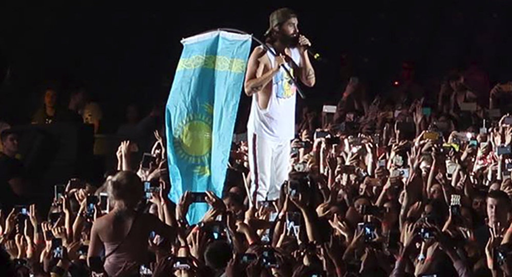Концерт Thirty Seconds to Mars в Астане