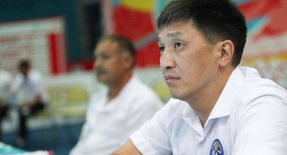 Председатель судейской комиссии Казахстанской федерации бокса Ермек Суйениш