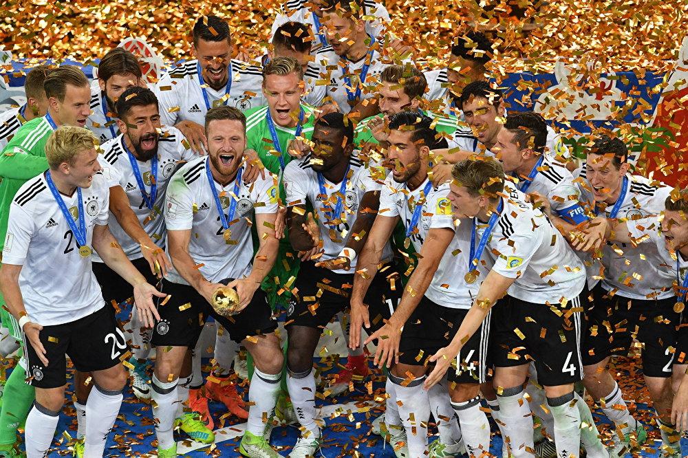 Футбол. Кубок конфедераций-2017. Церемония награждения