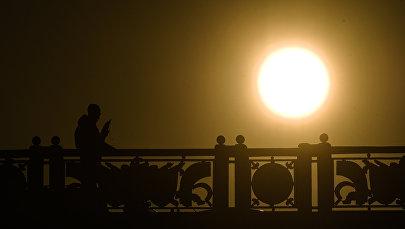 Солнце, жара