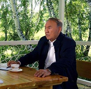 Нурсултан Назарбаев дал интервью телеканалу Россия 24