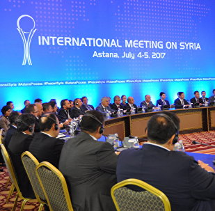 Переговоры по сирийскому урегулированию в Астане, архивное фото
