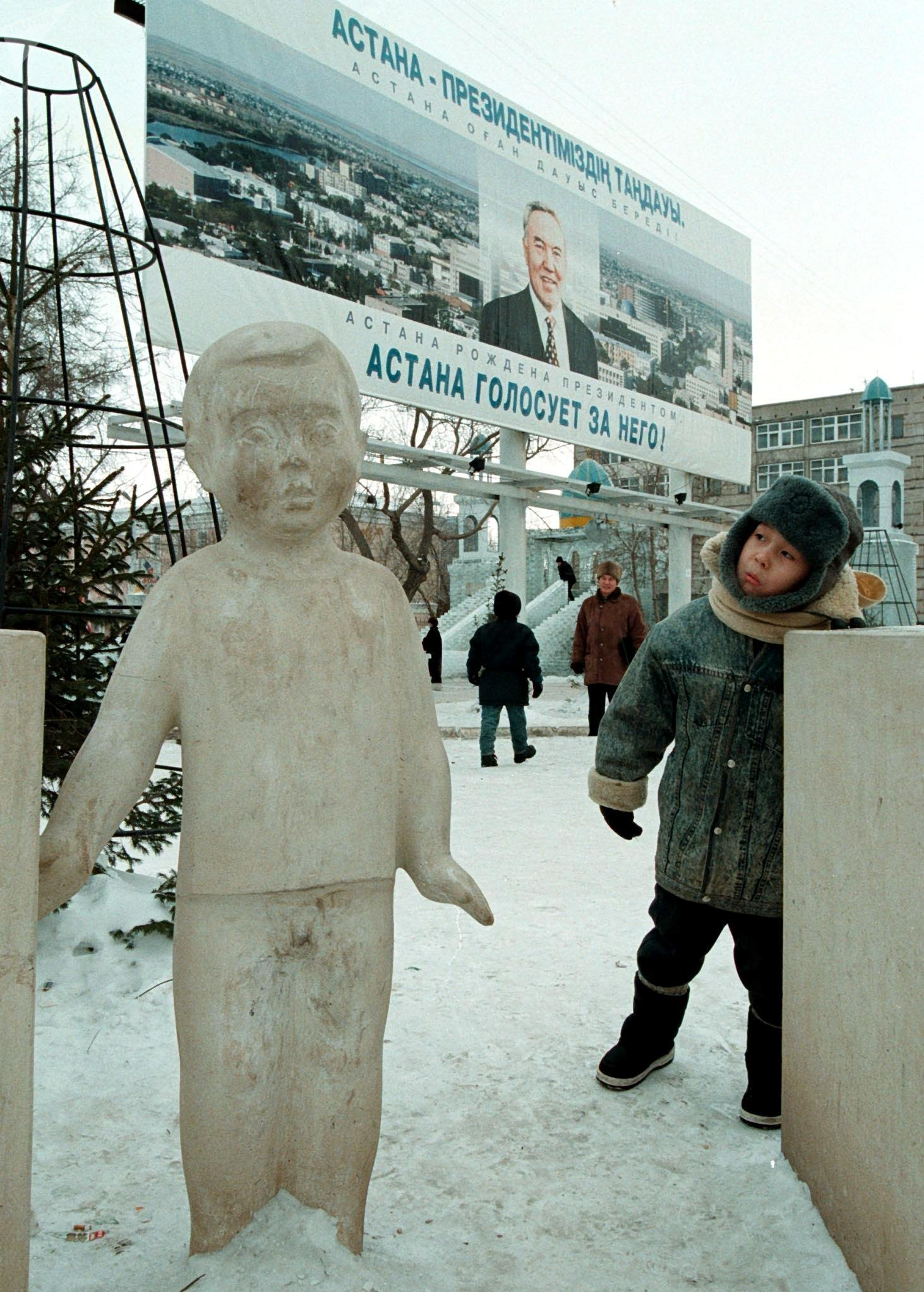 Жители столицы Казахстана, 1999 год
