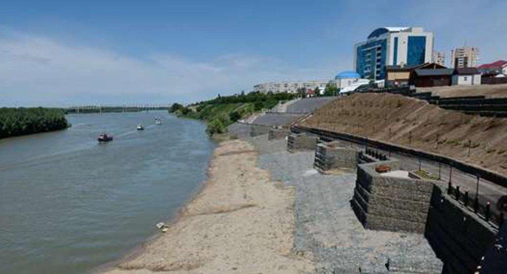 Набережная реки Иртыш в Павлодаре