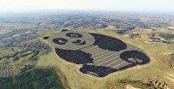 Электростанция в виде Панды в Китае
