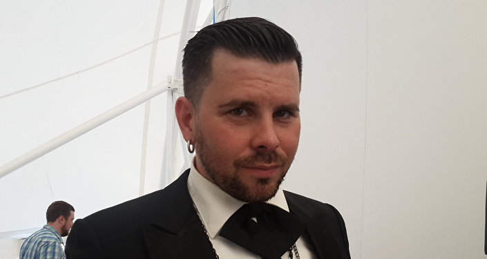 Латвийский певец и композитор Интрас Бусулис