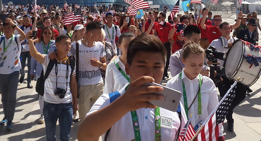 Национальный день США на ЭКСПО