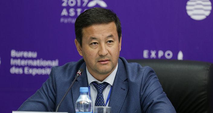 Директор департамента безопасности нацкомпании Астана ЭКСПО-2017 Рустем Чакенов