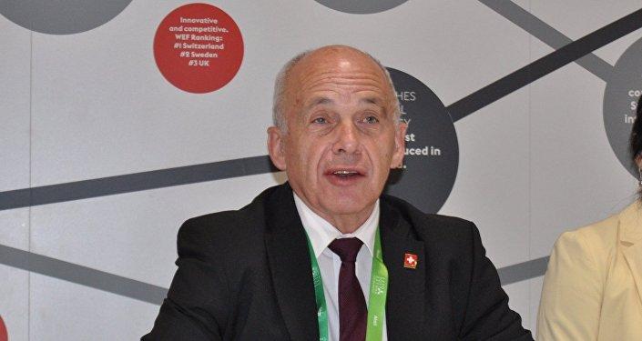 Министр финансов Швейцарии Уэли Маурер