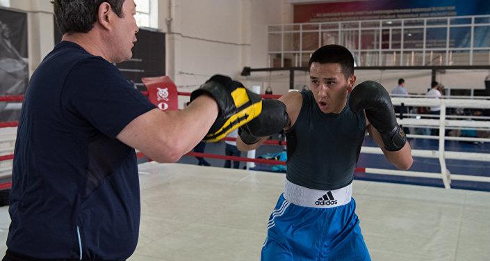 Боксеры Astana Arlans провели открытую тренировку