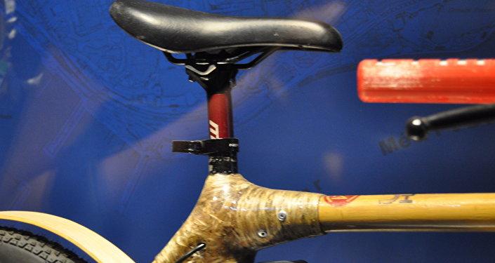 Бамбуковое волокно на велосипеде