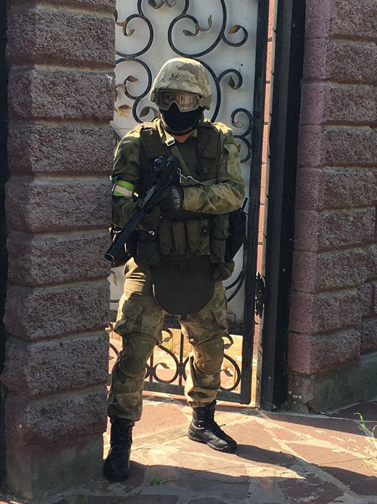 Спецоперация в Кызылординской области