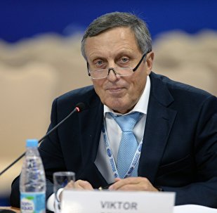 Ректор Российского экономического университета имени Г.В. Плеханова Виктор Гришин