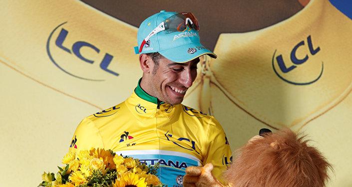 Фабио Ару после 12 этапа Тур де Франс