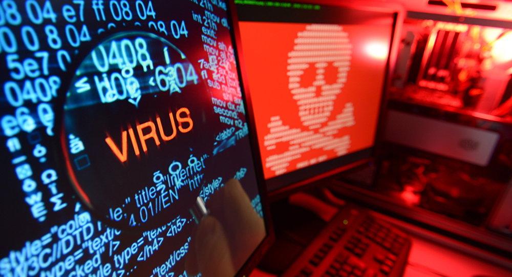Компьютерный вирус, иллюстративное фото
