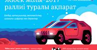 Жібек жолы 2017 раллиі туралы ақпарат