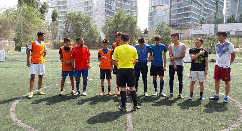 Соревнования футбольной лиги Асыл мура среди прихожан мечетей