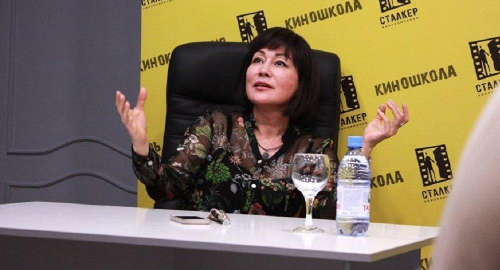 Актриса Жанна Куанышева
