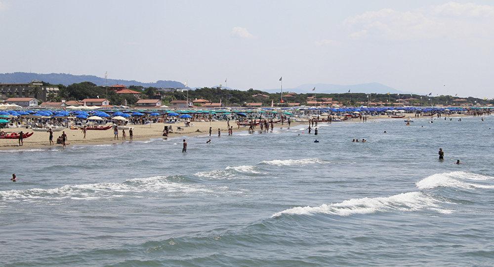 Итальянский морской курорт Форте дей Марми (Тоскана)
