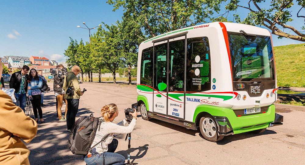 Беспилотные автобусы в Таллинне