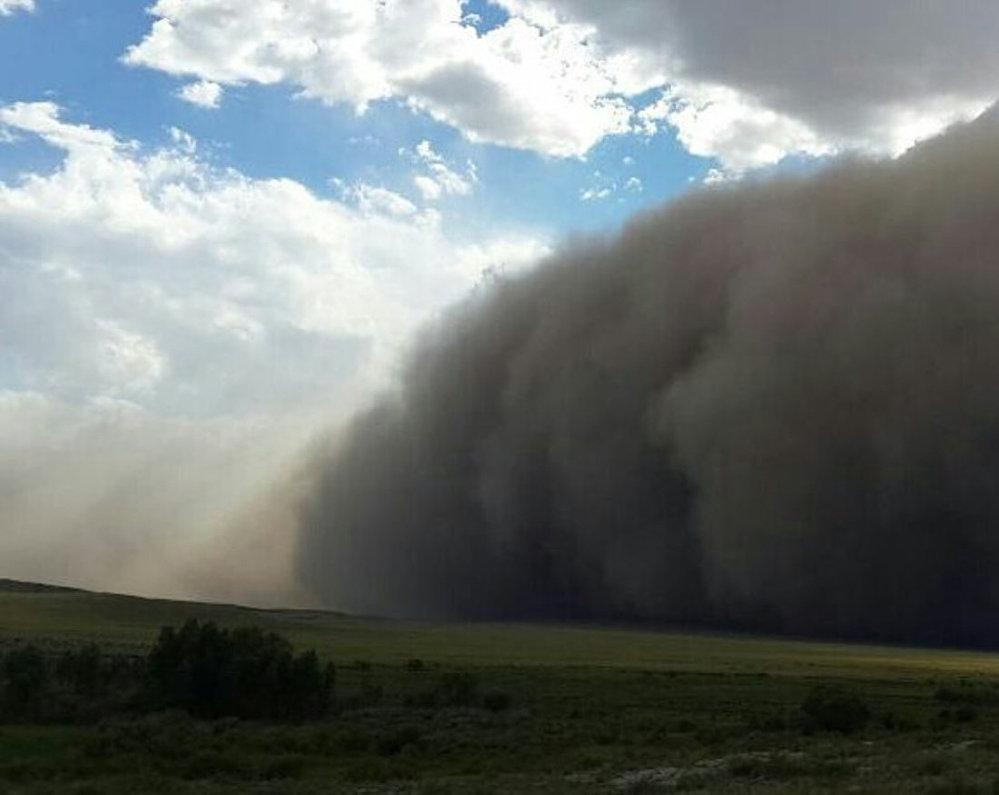 Ураган в Усть-Каменогорске