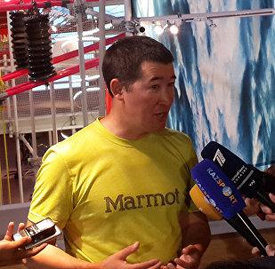 Известный казахстанский альпинист Максут Жумаев