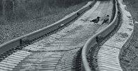 Рельсы, железная дорога