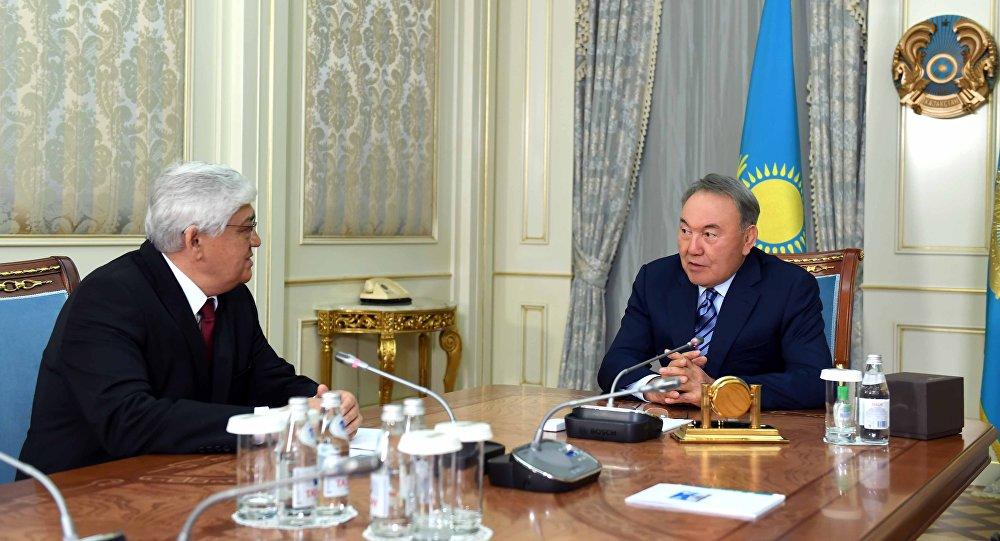 Встреча с Алибеком Днишевым