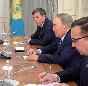 Встреча с экс-президентом Южной Кореи Ли Мен Баком
