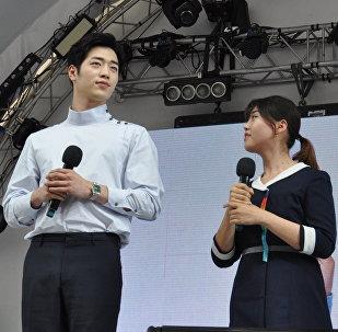 Актер Со Кан Джун в Астане